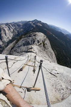 Top of Half Dome - Yosemite