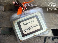 brown paper packages: {mini quiet books}
