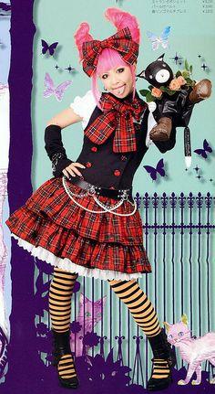 Punk Lolita - Lolita Fashion Wiki - Wikia