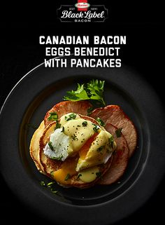 Bacon while you brunch. Make this classic breakfast this weekend with BLACK LABEL® Canadian Bacon and Bisquick Baking Mix. Breakfast Dishes, Breakfast Time, Breakfast Recipes, Canadian Bacon, Man Food, Perfect Breakfast, Food Cravings, Brunch Recipes, Yummy Food
