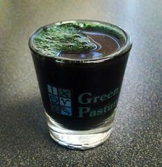 spirulina shot