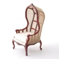 DHM096-06 - 1:12 Scale Hooded Chair