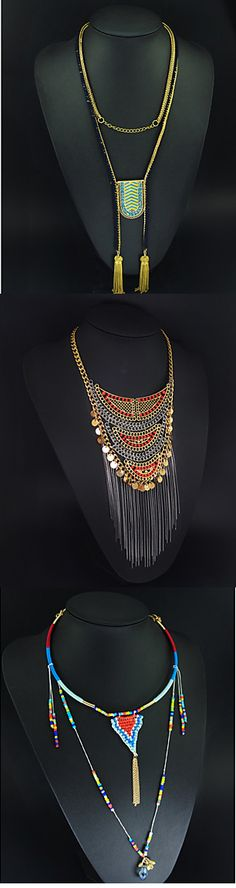 Stunning vintage necklaces. Explore more with us.