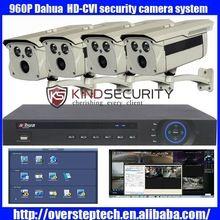 Pôvodný 4ch Dahua 960p HD-CVI vonkajšie bezpečnostný kamerový systém s 4ks bullet kamery