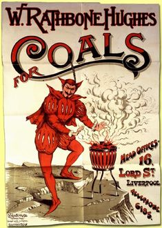 Catalogue ref: Copy 1/13;  An advert for coal