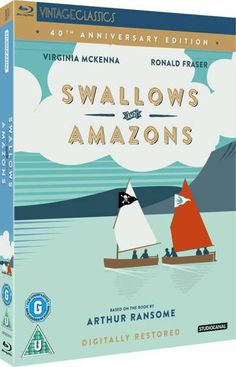 StudioCanal's digitally restored DVD of 'Swallows & Amazons' (1974) with an extras package that includes interviews with Virginia McKenna, Suzanna Hamilton and Sophie Neville as well as behind-the-scenes footage taken on location in the Lake District