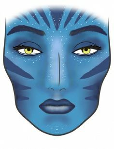 face painting on Pinterest   Leopards, Avatar and Halloween ...