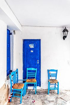 Tinos, Greece Roasted Chestnuts, Tinos Greece, Blue And White, Glass, Drinkware, Corning Glass, Yuri, Tumbler, Mirrors