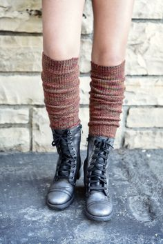 Lace up those boots and pull up those socks...get ready, fall is here!