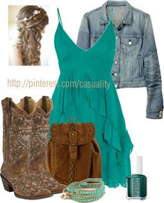 Simpler cowgirl boots