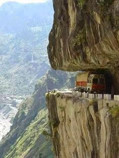 Himalayan Mountain Road, Pakistan
