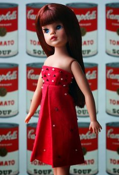 Sindy by Tonner Doll Company Sindy Doll, Dolls, Barbie, Knit Dress, Dress Up, Fashion Models, Fashion Show, Pink Gingham, Cute Pink