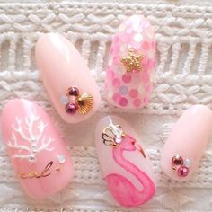 Nails mermaid Nails Mermaid Nailart New Ideas Nails Mermaid Nailart New Ideas Beach Nail Art, Beach Nails, 3d Nail Art, Nail Arts, Pink Nails, My Nails, Red Nail, Pastel Nails, Cute Nails