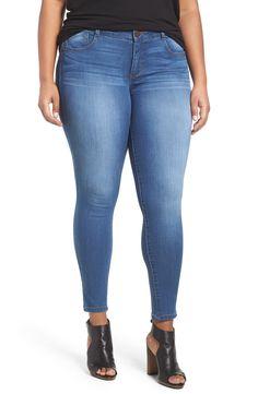 1ba9fabd42839 Plus Size Women's Wit & Wisdom Ab-Solution Stretch Skinny Jeans, Size  24W