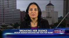 Muslim Woman Explains Why She Voted for Donald Trump