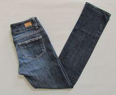 Paige Premium Denim Jeans 26 Hidden Hills Straight leg Big Sur Medium Indigo 29  #PaigeDenim #StraightLeg #Hiddenhills #BigSur