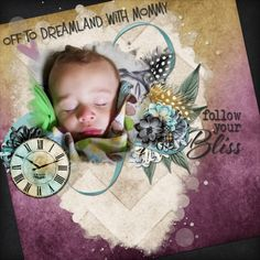 Bold and subtle? How can that be? Right here is how. Beautiful, vibrant colors in washed textures fill this kit. Numerous elements complete this amazing, versatile kit. Title: 2016-05-19 SnugglesWithMommy Kit/Link: Painted with Dreams by Jumpstart Designs, https://www.pickleberrypop.com/shop/product.php?productid=49268&page=1 keywords: jumpstart designs, grandson, son, mommy, sleeping, purple, blue, green font: na program: GIMP