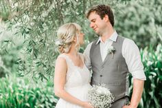 Mr & Mrs Jackson. Liah Roebuck Bridal real bride 2015 shot by @mandymarymills ... got to love delicate lace, fresh blooms and a 7month along baby bump <3 www.facebook.com/LiahRoebuckBridal ..