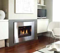 Regency Fireplace #RobbenHeatingAirConditioning