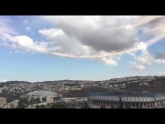 Look at what the clouds do in Jerusalem when the 'First' trumpet is blown for Rosh Hashanah! – TheWatchTowers.org