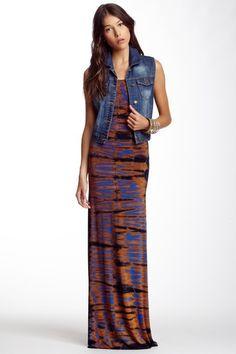 Tie-Dye Racerback Maxi Dress on HauteLook