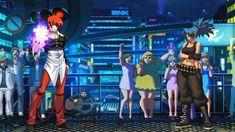 百萬亞瑟王八神庵 VS 拳皇13代雷歐娜【KOF MUGEN】 Street Fighter Characters, King Of Fighters, Fighting Games, Two By Two, Concert, Concerts