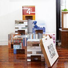 Karton's cardboard furniture – join the fold! | Bookmarc