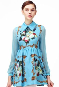 Romwe Women's Sheer Long Sleeves Floral Dress-Blue-L Romwe http://smile.amazon.com/dp/B00BUFSCUY/ref=cm_sw_r_pi_dp_UXcPub11C4PFM