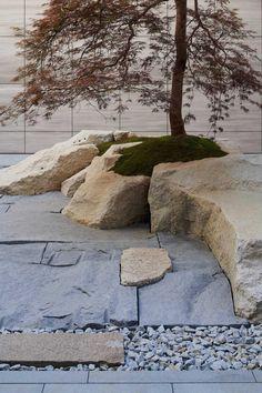 Heguang Garden, China by July Cooperative Company - 谷德设计网 Landscape Architecture, Landscape Design, Mediterranean Garden Design, Japanese Garden Design, Japanese Gardens, Japan Garden, Garden Pavilion, Native Plants, Garden Planning