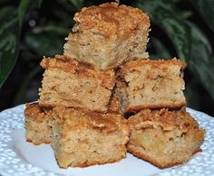 The Bake More: Emeril: Apple Coffee Cake with Crumble Topping and Brown Sugar Glaze