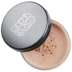 Shop Cinema Secrets' Mineral Powder at Sephora. This oil-free, loose setting powder sets makeup and leaves a natural-looking, matte finish. Powder Puff, Face Powder, Cinema Secrets, Mineral Powder, Loose Powder, Setting Powder, Makeup Yourself, Makeup Cosmetics, Best Makeup Products