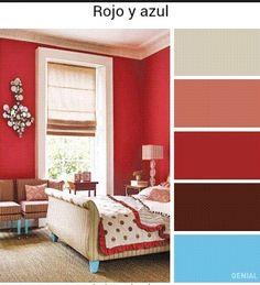 Schlafzimmer Rot U2013 Eine Romantische Und Voll Mit Leidenschaft Farbgestaltung  Fürs Schlafzimmer. Ein .