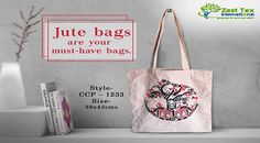 cbf1d5f482 A stylish way to present your fashion. Buy eco-friendly jute bags from Jute