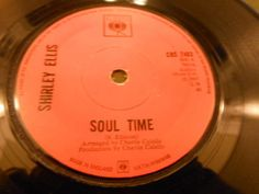 Northern Soul 45     Shirley Ellis -  Soul Time  -  CBS   Records