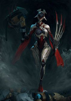 Warframe: Devstream 115 Overview New warframe concept The name's Garuda Character Concept, Character Art, Concept Art, Warframe Wallpaper, Warframe Art, Warframe Frames, Warframe Valkyr, Warframe Tenno, Character Illustration