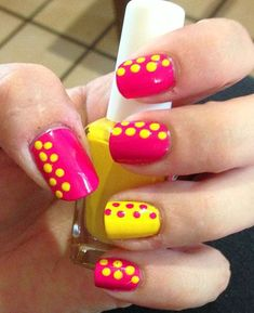 Nice and Trending Summer Inspired Nail Art Designs - Fashion & Trend