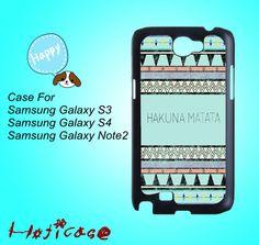 hakuna matata,aztec--Samsung S3 case,Samsung S4 case,Samsung note 2 case,cute Samsung S4 case,pretty Samsung S4 case,Samsung galaxy S4 case. by Hoticase on Etsy, $14.88