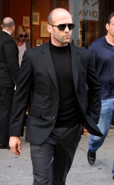 Jason Statham in NYC, 2012, hmmm? what room should i put him in?