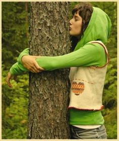 Tree Hugging Scientifically Validated.