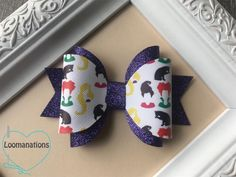 Hocus Pocus Cheer Bow,Hocus Pocus Witch Hair Bow,Girls Halloween Hair Bow,Cheer