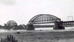 Spoorbrug Nijmegen, mei 1940