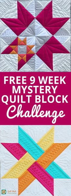 It's easy! To officially join the challenge, enter your email address in the box above. This ensures you will get each block of the quilt challenge delivered right to your inbox as soon as it is released. Then, over the course of nine weeks, you will get each block of the quilt delivered to your inbox via the National Quilters Circle newsletter, one block at a time.