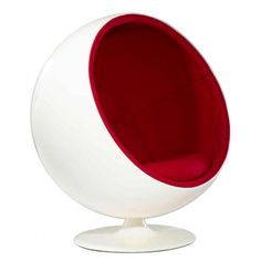 Ball Chair, Eero Aarnio, designed in Design My Room, Chair Design, Mid Century Modern Design, Modern House Design, Retro Furniture, Furniture Design, Garden Chairs For Sale, Modern Classic, Mid-century Modern