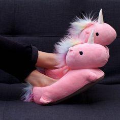 Unicorn Heated Slippers
