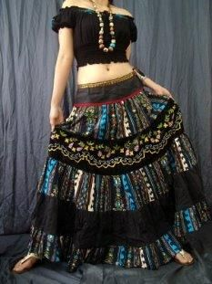 Цыганская юбка пошив саратов