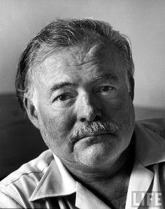 Ernest Hemingway, Cuba, 1952, by Alfred Eisenstaedt