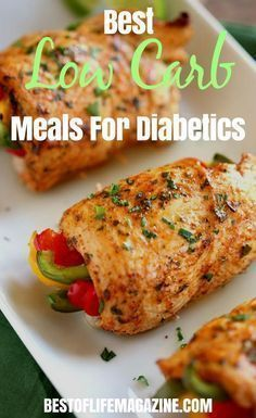 Low Carb Meals for Diabetics Keto Meals that Reduce Blood Sugar BOLM is part of Best low carb recipes - There are easy to make low carb meals for diabetics that are perfect for doing meal prep, making it so easy to stick to your keto meal plan! Diabetic Meal Plan, Ketogenic Diet Meal Plan, Keto Meal Plan, Diet Meal Plans, Easy Diabetic Meals, Diabetic Food List, Diabetic Friendly, Diabetic Breakfast Recipes, Heart Healthy Meals