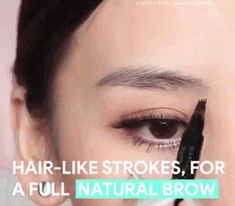 Facts & Features: of the women today using any kind of makeup on their eyebrows. The item has a precise micro-fork tip Hair-like strokes, for a full natural brow Smudge-proof, Long-lasting Ink formula Eyebrow Pencil, Eyebrow Makeup, Eyebrow Grooming, Perfect Eyebrows, Shape Eyebrows, Eyebrow Shapes, Eyelid Tape, Drill Brush, Eyebrow Tattoo