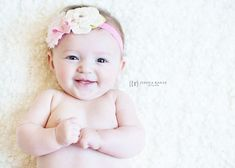 how to pose a 4 month old for pictures | Cute 3 month Baby Picture Poses | Perrin | 3 months old | Spring Hill ...