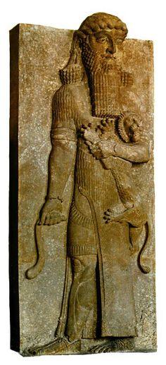 Gilgamés, Museu do Louvre, Paris.